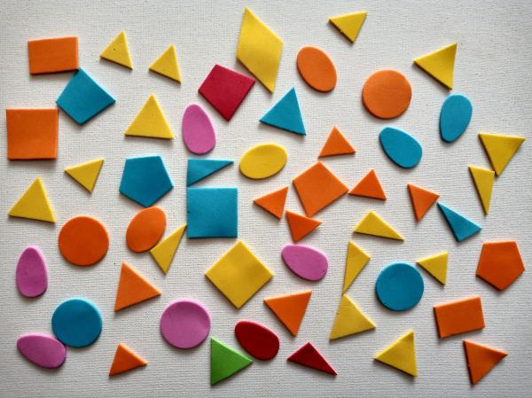 Figurine buretate autoadezive - FIGURI GEOMETRICE 0