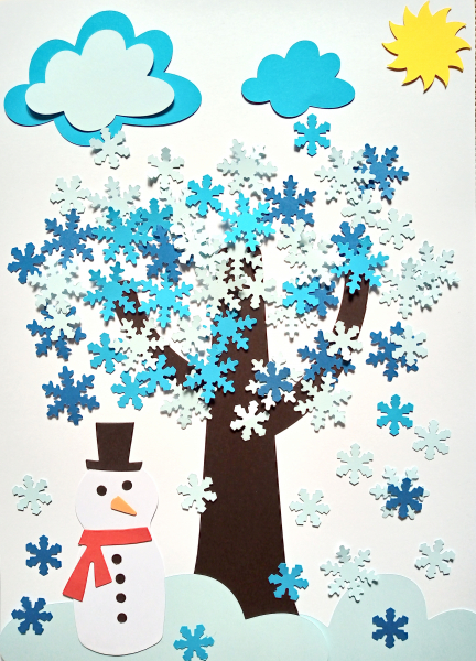 Copacul iernii - set creativ 0