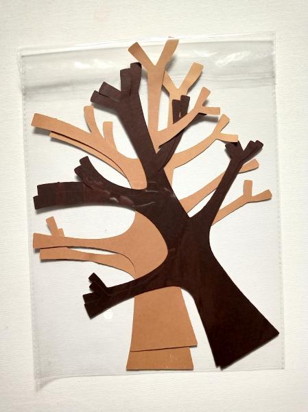 4 copaci cu crengi 24 cm 1