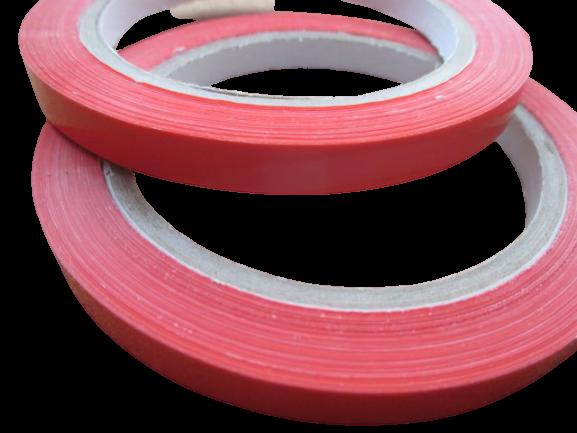 Banda adeziva rosie 0
