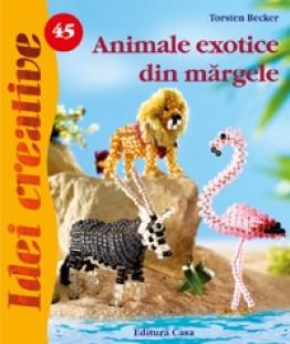 Animale exotice din mãrgele - Idei Creative nr. 45 0