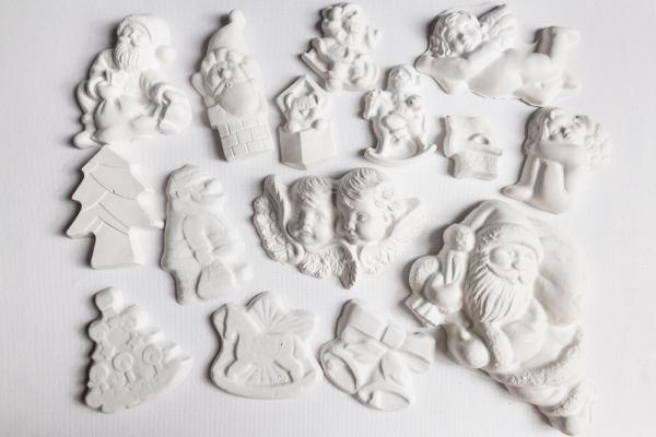 15 figurine din ipsos pentru Craciun 0