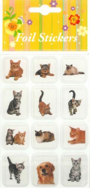 Autocolant pisici, caini model 2 0