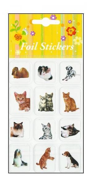 Autocolant pisici, caini model 3 0