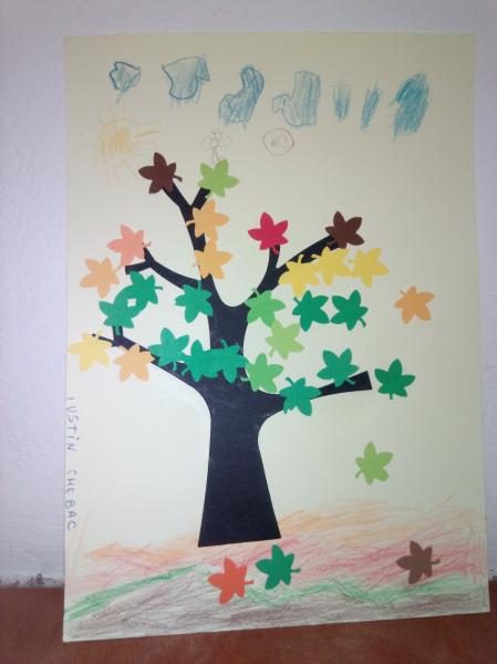 Copaci carton - set 72 bucati 4