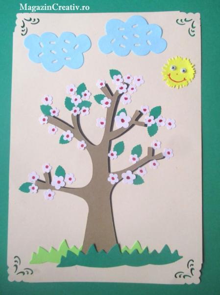 Copaci carton - set 72 bucati 3