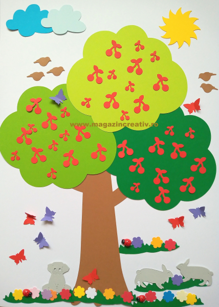 Copacul verii - set creativ 0