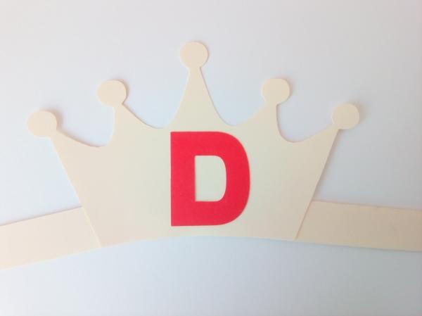 Coroană literă - set creativ [3]
