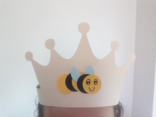 Coroană albină - set creativ 0