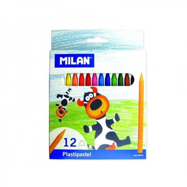 Creion color 12 culori cerat 0