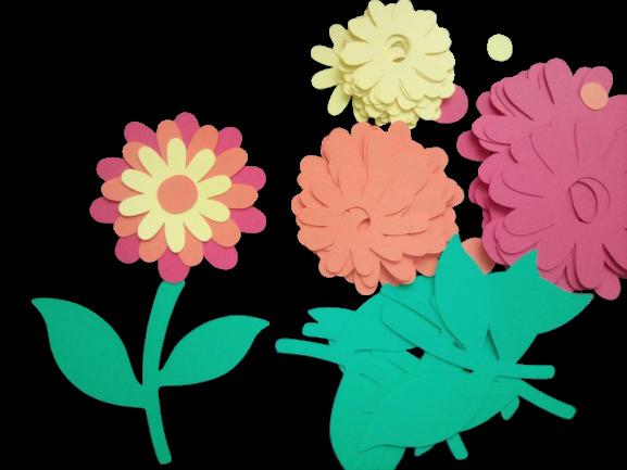 Crizantema - set creativ 10 bucati 0