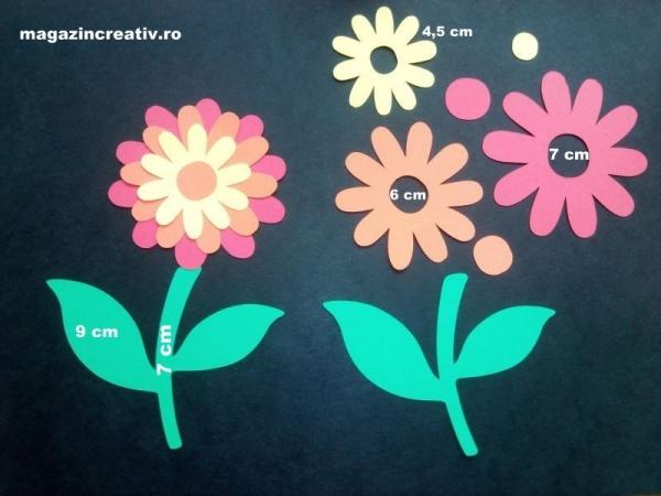 Crizantema - set creativ 10 bucati 1