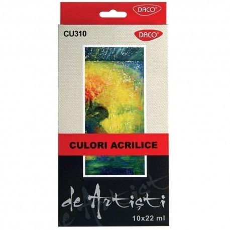 Culori acril 10 culori 22 ml Artist [0]