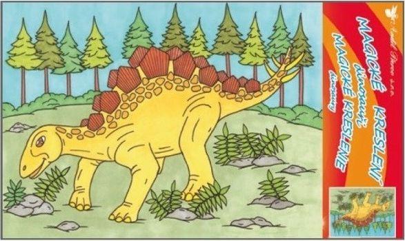 Desen magic dinozauri model 2 0