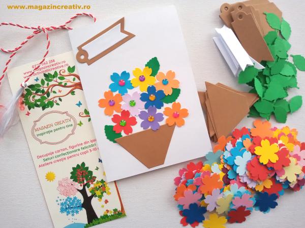 Flori pentru mama - set confectionare 22 felicitari 0