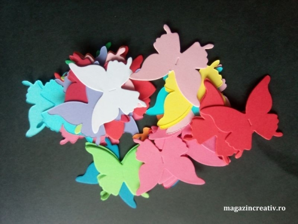 Fluturi coloraţi 1