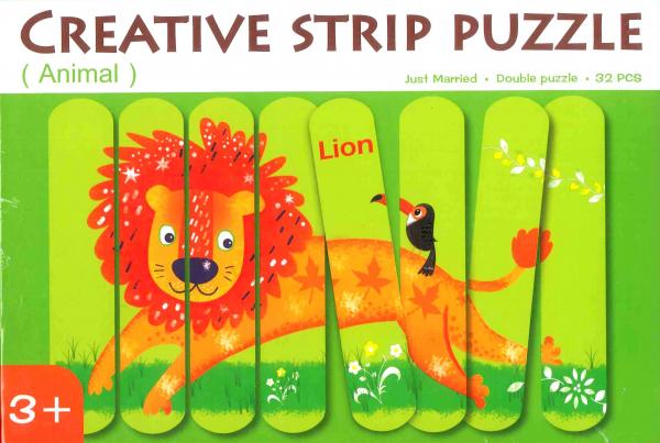 Animale puzzle 32 spatule 0