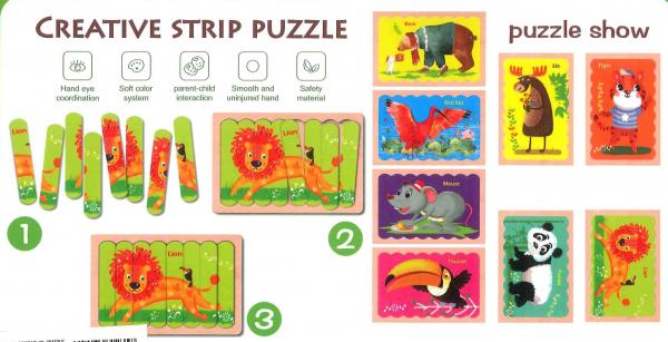 Animale puzzle 32 spatule 1