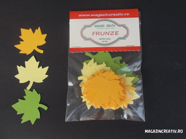 Frunze arţar 3,7 cm 0