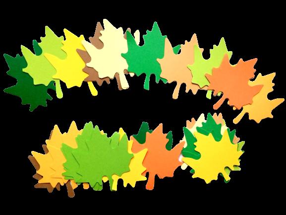 Frunze toamna 7,5 cm [0]