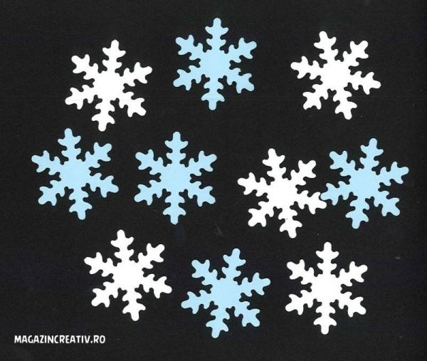 Fulgi zăpadă 3,7 cm 0