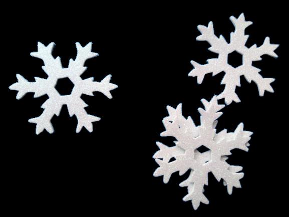 Fulgi albi spuma glitter AA [0]