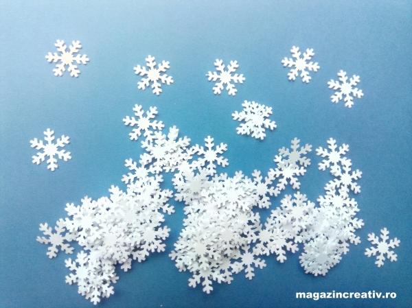 Fulgi zăpadă 2,5 cm 0