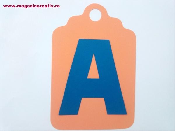 Ghirlandă cu litere sau cifre - 1 element 4