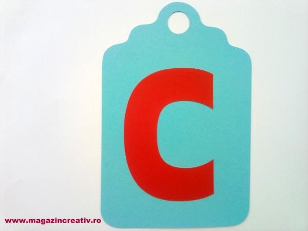 Ghirlandă cu litere sau cifre - 1 element 1