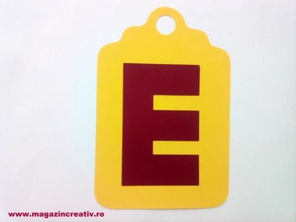 Ghirlandă cu litere sau cifre - 1 element 7
