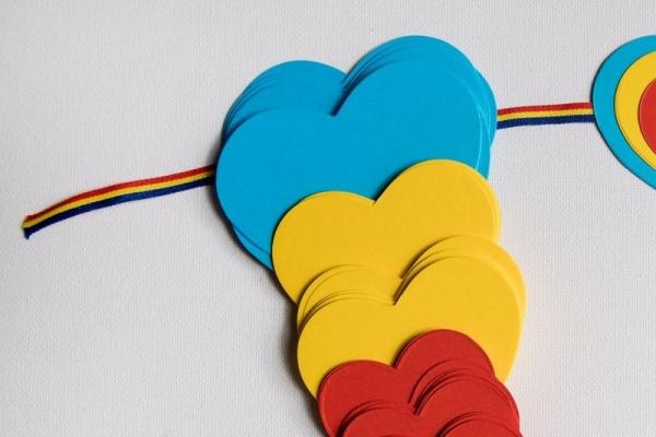 Ghirlanda Iubesc Romania 5 m 1