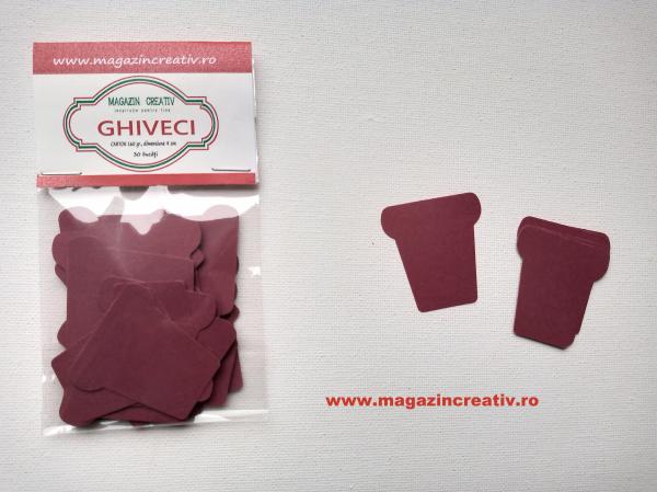 Ghiveci carton 4 cm 0