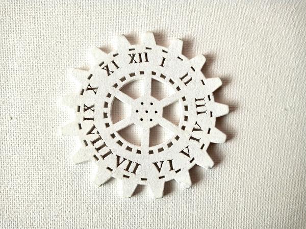 Decor ceas lemn 3 0