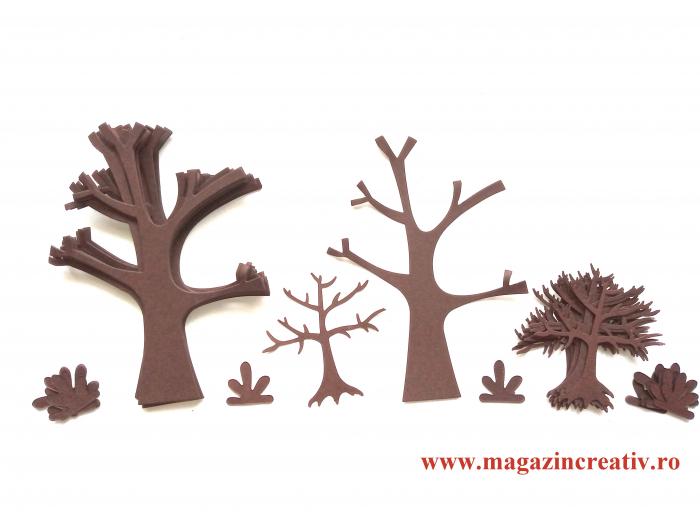 Copaci carton - mix 30 bucati 0