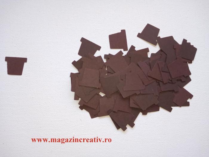Ghivece carton 2,5 cm 0