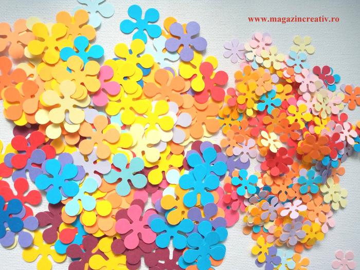 500 floricele cu 5 petale 0