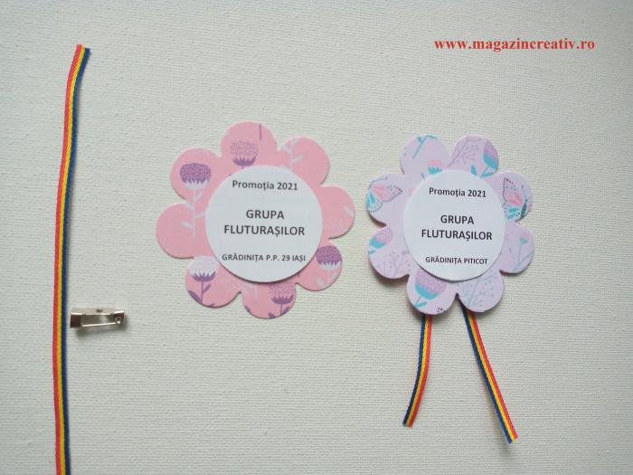 Cocarda floare - set creativ cu personalizare [0]