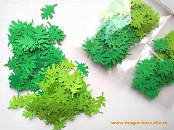 Set frunze verzi 2.5 cm 0