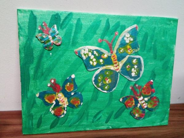 Panza pictura pe placaj 18/ 24 cm 4