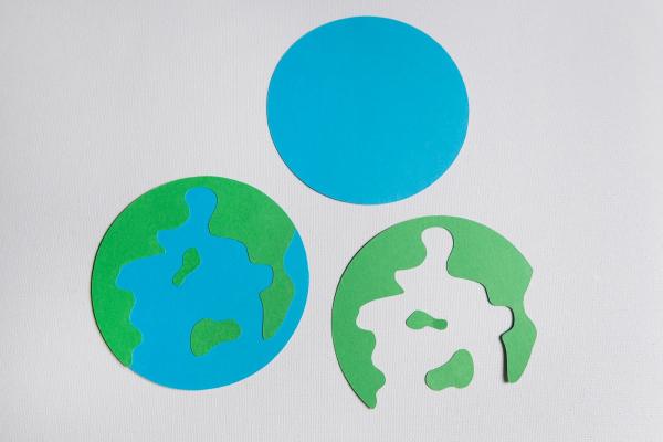 Set creativ Planeta Pamant 0