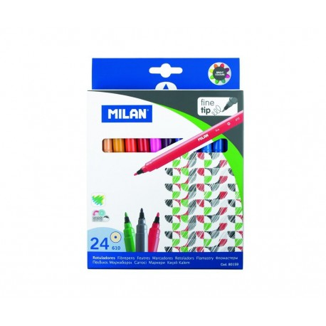 Carioca 24 culori Milan 0