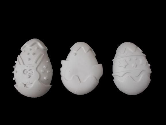 Set 3 ouă mari Paști 0