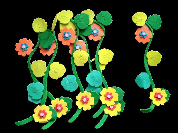 Set decorativ crenguta inflorita - 6 bucati/ tipla [0]