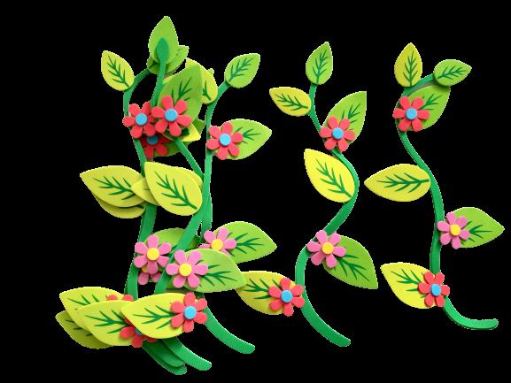 Set decorativ zambile - 6 bucati 0