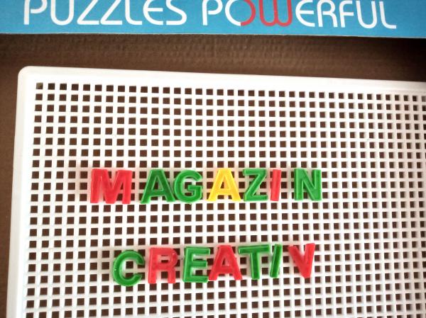 Set mozaic - pioneze, cifre si litere 5
