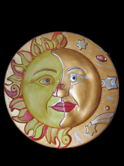 Soarele si Luna - tablou ipsos 1