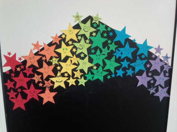 Stele curcubeu - set creativ 3