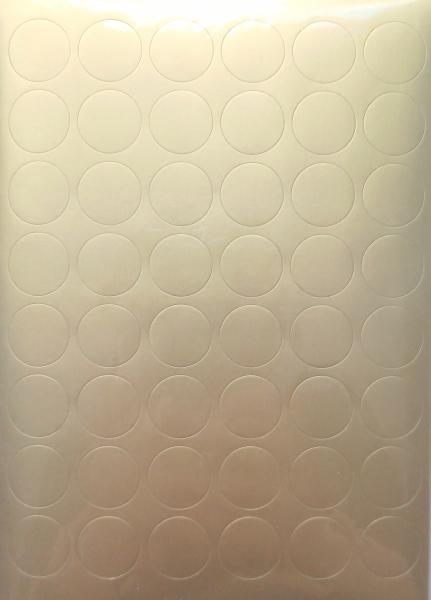 Sticker cercuri aurii / 288 bucați 0