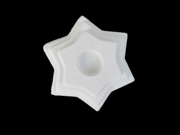 Suport lumanare stea 10 cm 0