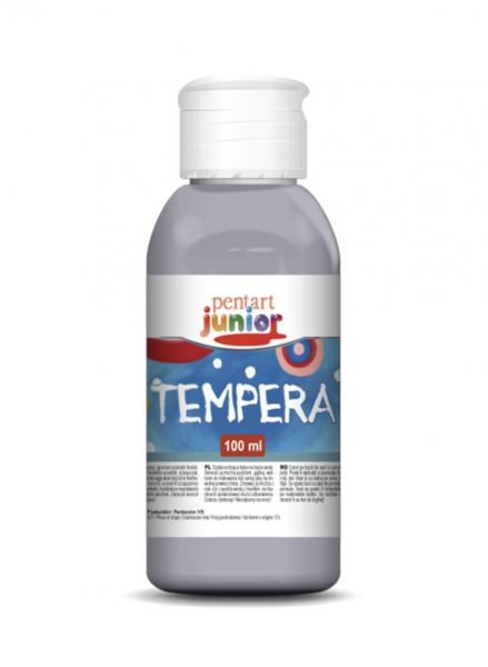 Tempera metalizata argintiu 0